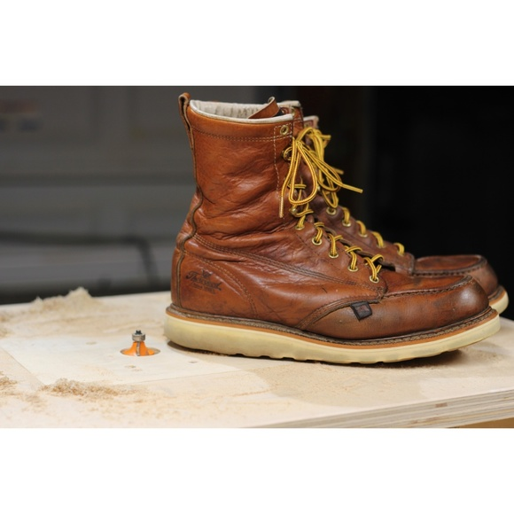44491f13d2e ThoroGood Work Boots - 8″ Steel Toe - Made in USA